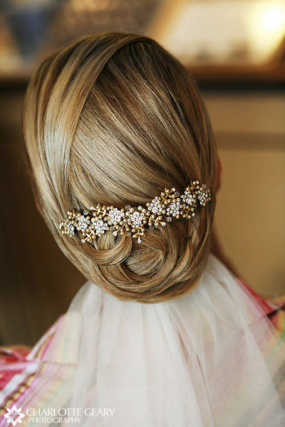 wedding hairstyle. Let's not forget the hundreds of pictures you'll have