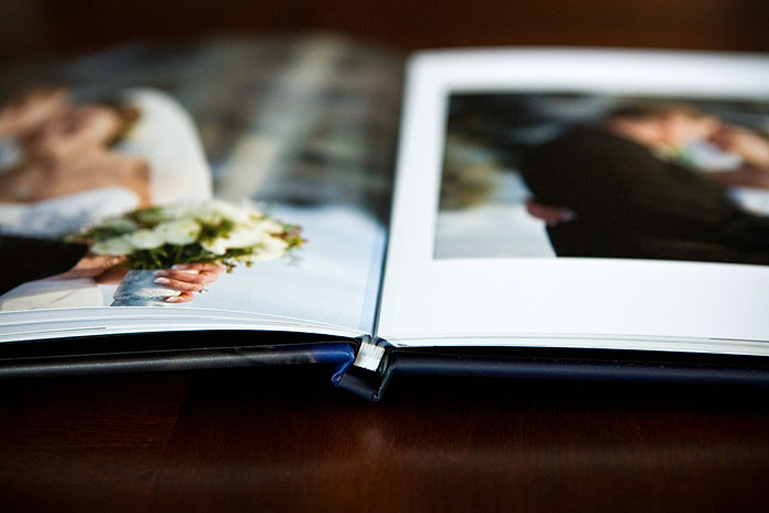 coffee table book wedding album