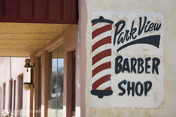 Rocky Ford barber shop