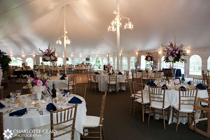 Wedding reception at Stone Manor Country Club
