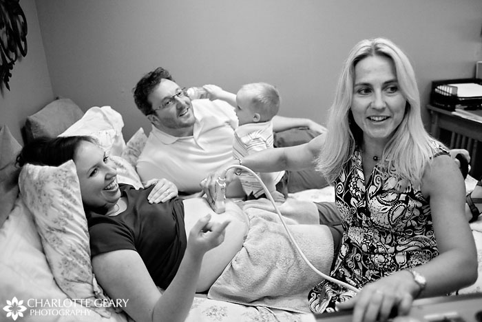 Pregnancy ultrasound maternity portraits in Colorado Springs