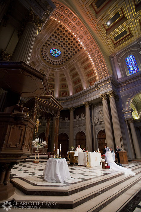 Wedding at St. Ignatius Church in San Francisco