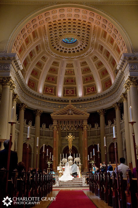 Wedding at St. Ignatius Church in San Francisco