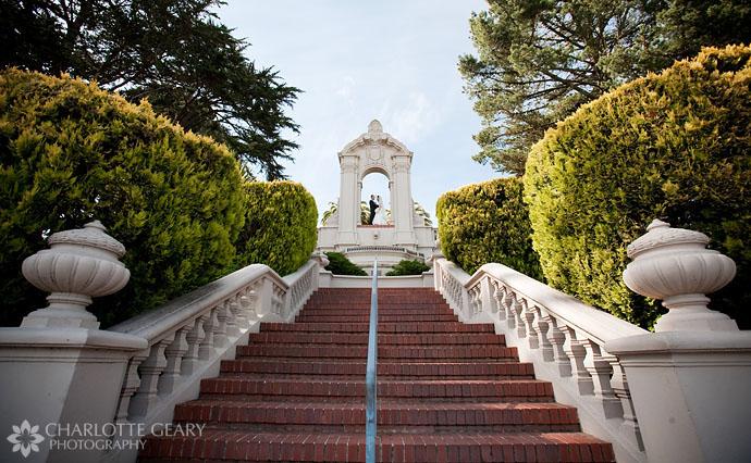 Wedding at the University of San Francisco