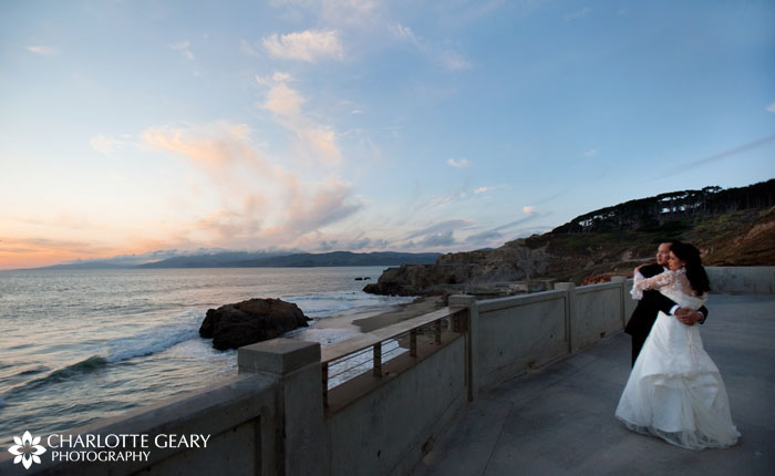Cliff House wedding in San Francisco