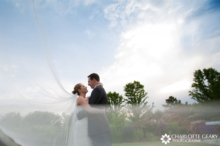 Hudson Gardens wedding in Littleton