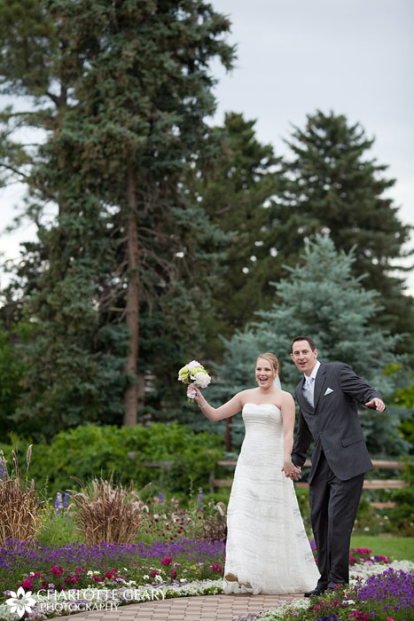 Hudson Gardens Inn wedding