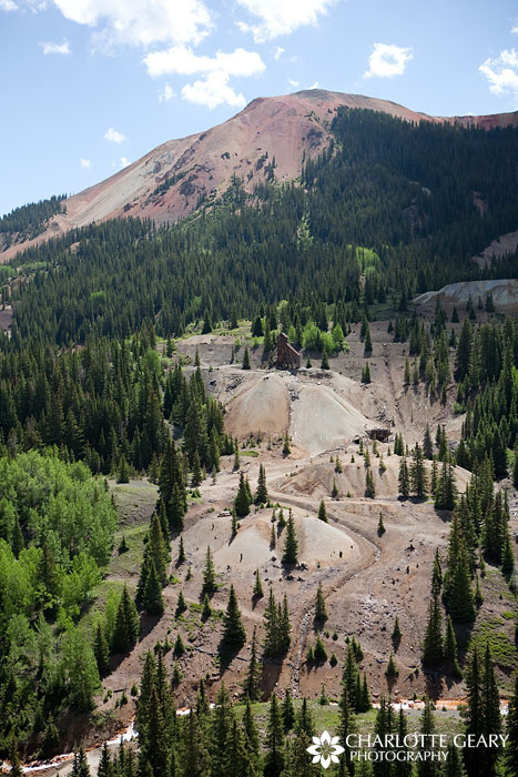 Mines near Red Mountain in Colorado
