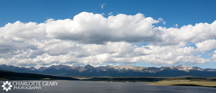 Taylor Reservoir in Colorado