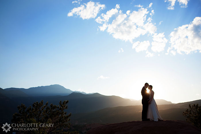 Garden of the Gods wedding in Colorado Springs
