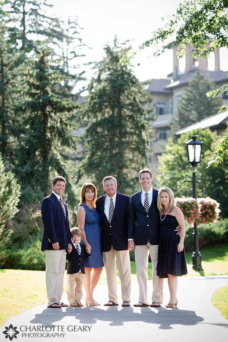 Colorado Springs family portraits at the Broadmoor
