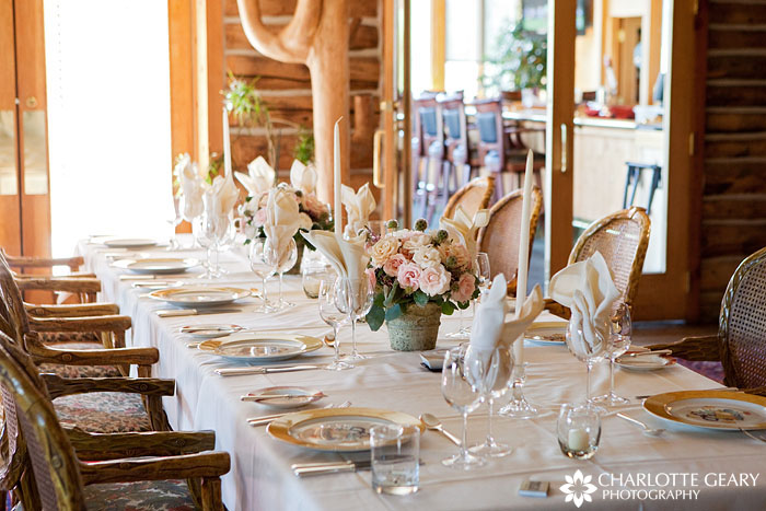 Wedding reception at Keystone Ranch restaurant