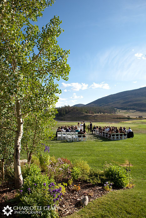Keystone Ranch wedding in Colorado