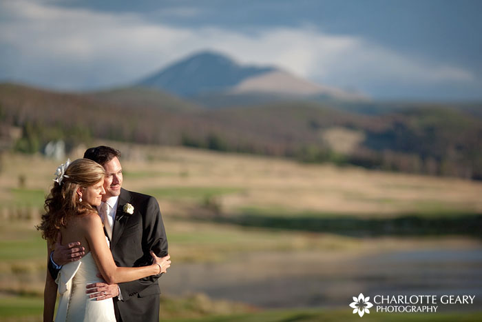 Keystone Ranch wedding in the mountains of Colorado