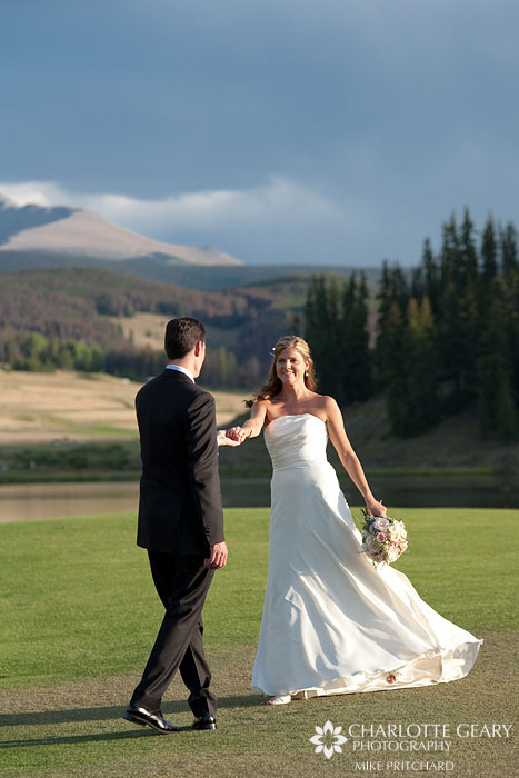 Mountain ranch wedding in Colorado