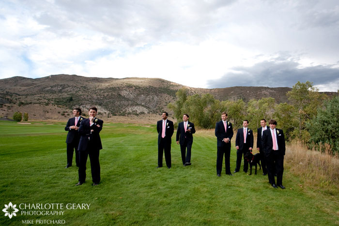 Groomsmen at Eagle Springs Golf Club