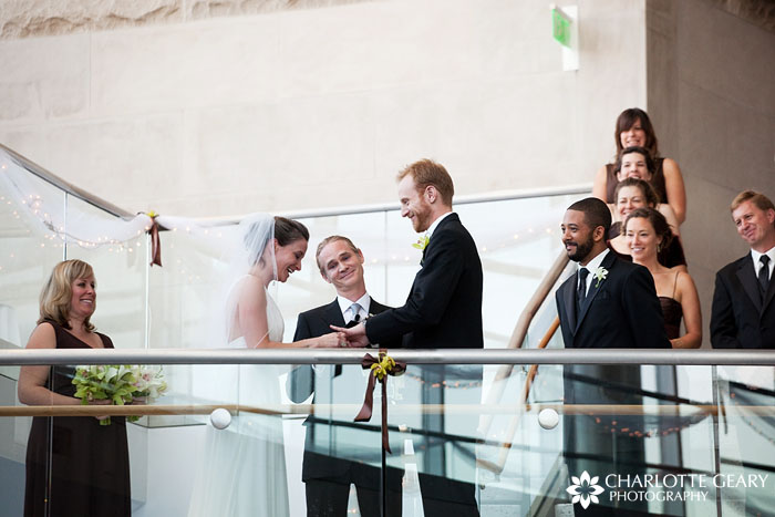 Wedding at the Cable Center in Denver
