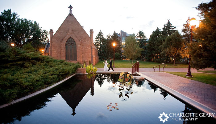 Wedding at the University of Denver