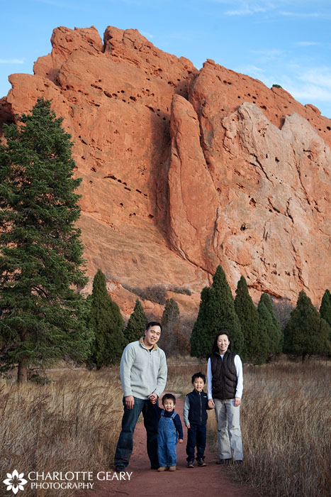 Garden of the Gods family portrait
