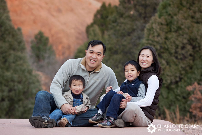 Colorado Springs family portrait